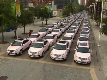carro rosa