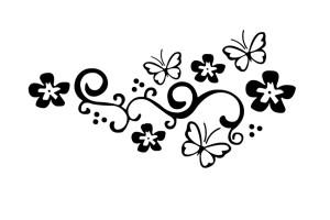 adesivo-para-carro-floral-borboleta-preto